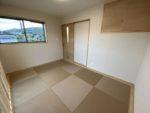 新着!!シンプルな和室です。縁なし畳もお洒落ですね。