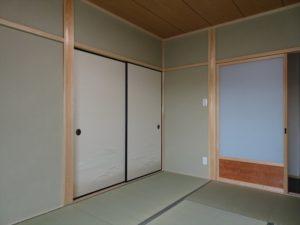 爽やかな襖で明るい和室に!